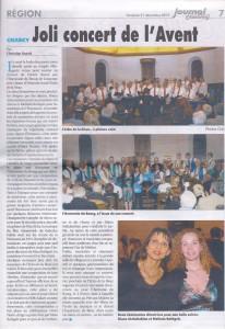 Concert de l'avant 15 décembre 2012