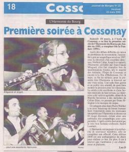 Journal de Cossonay 24 mars 2000